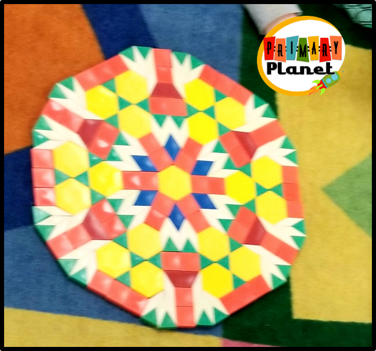 Image of a pattern block creation.