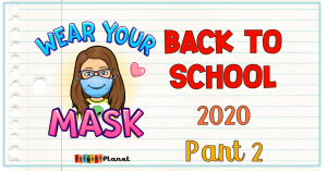 Cover image with text: Back to School 2020-2021