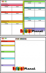 Image of Hybrid Lesson Plan Template