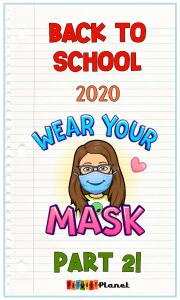 Blog Post Image Bitmoji with a Mask