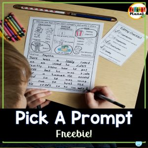 Check out this informative post on using writing prompts with pictures in your classroom! Picture writing prompts are a fun way to teach your students all kinds of writing Check it out and grab your freebies!