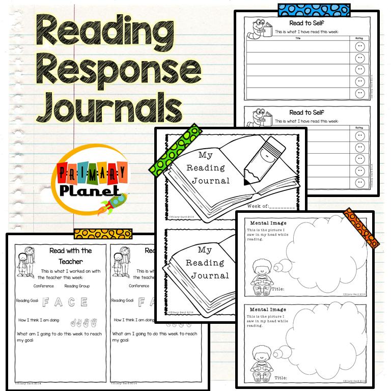 Reading Response Journal image
