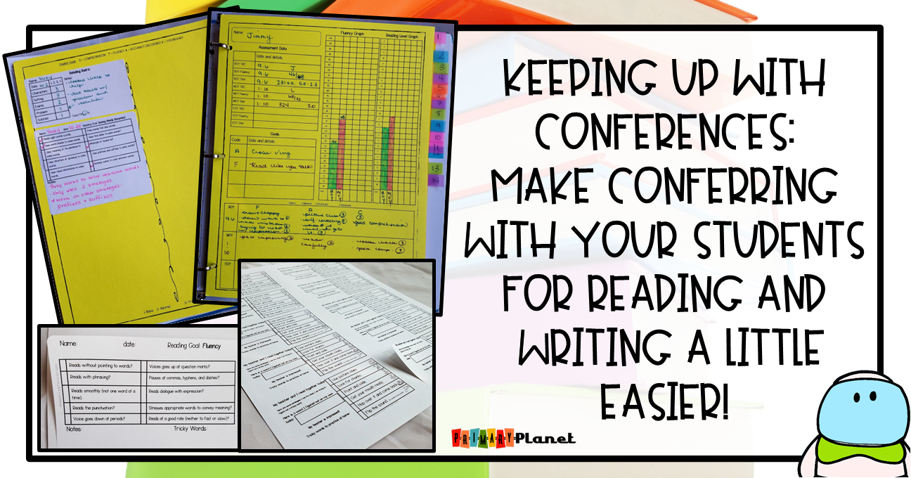 Managing reading and writing conferences with Reading and Writing Conference forms and labels.