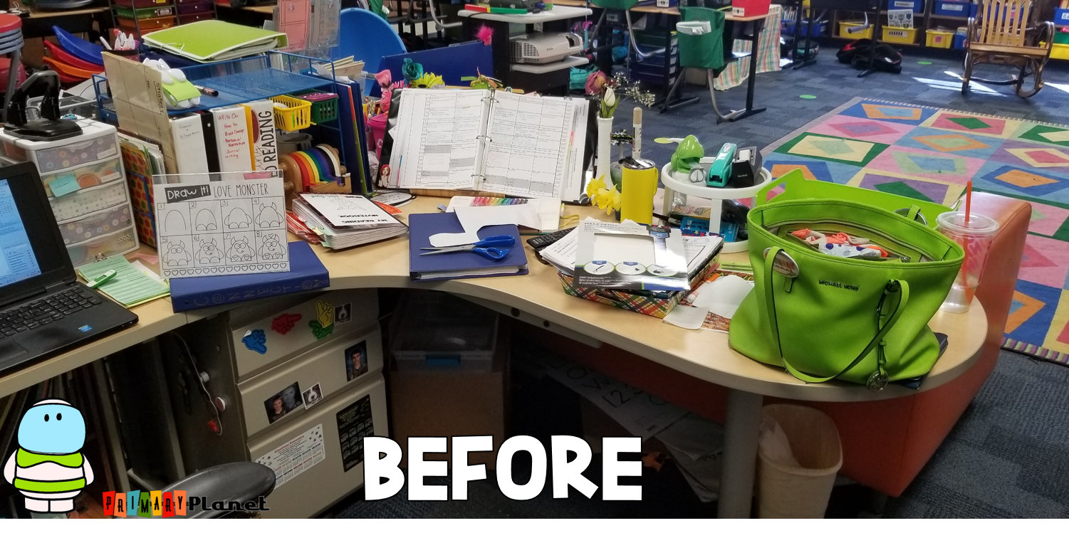 Teacher Tip: One SUPER SIMPLE thing that I do everyday to help my teacher sanity!