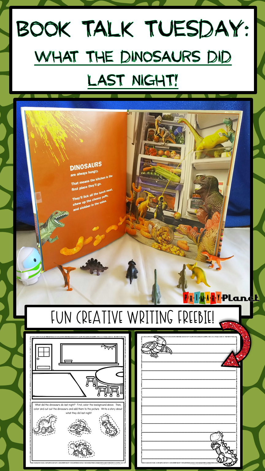 Fun text to spark creative writing with your students!  With a picture writing prompt freebie!