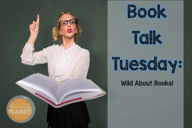 Wild about Reading animal bookmark Freebie!