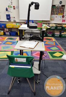 Messy desk solution
