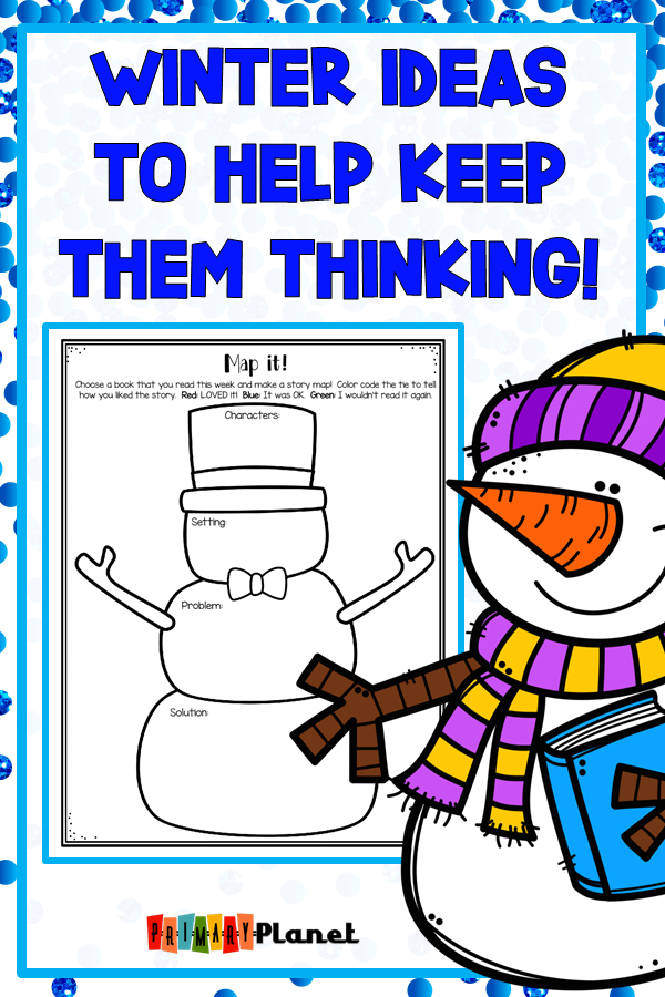 Winter Resource I LOVE!  January Reading Logs, Responses, and Challenges.