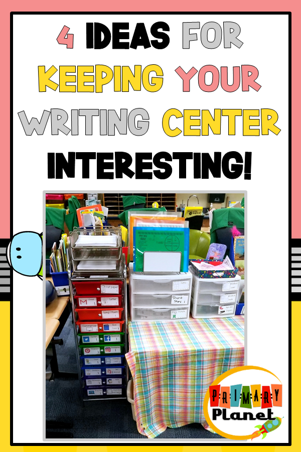 Image with Writing Center Picture and Title Text for Pinterest!