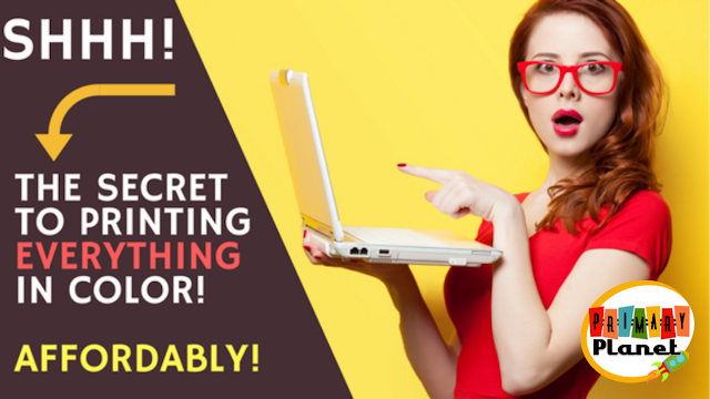 I have the secret to printing in color affordably!  You NEED to see this
