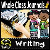 Class Writing Journals, writing, journals