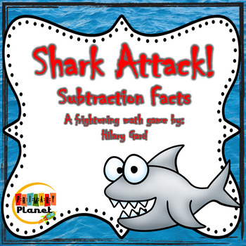 Shark Attack!  A fun subtraction game!